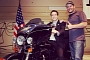Paul Jr. Customizes the Bike of Gov. Cuomo