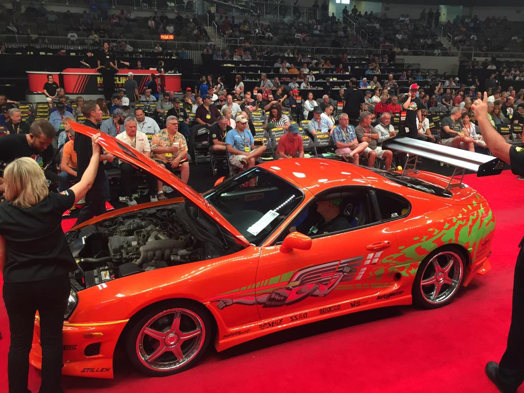 Toyota Supra 2015 Price >> Paul Walker's Fast and Furious Toyota Supra Sells for ...