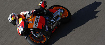 Pedrosa Crashes at Motegi, Breaks Collarbone