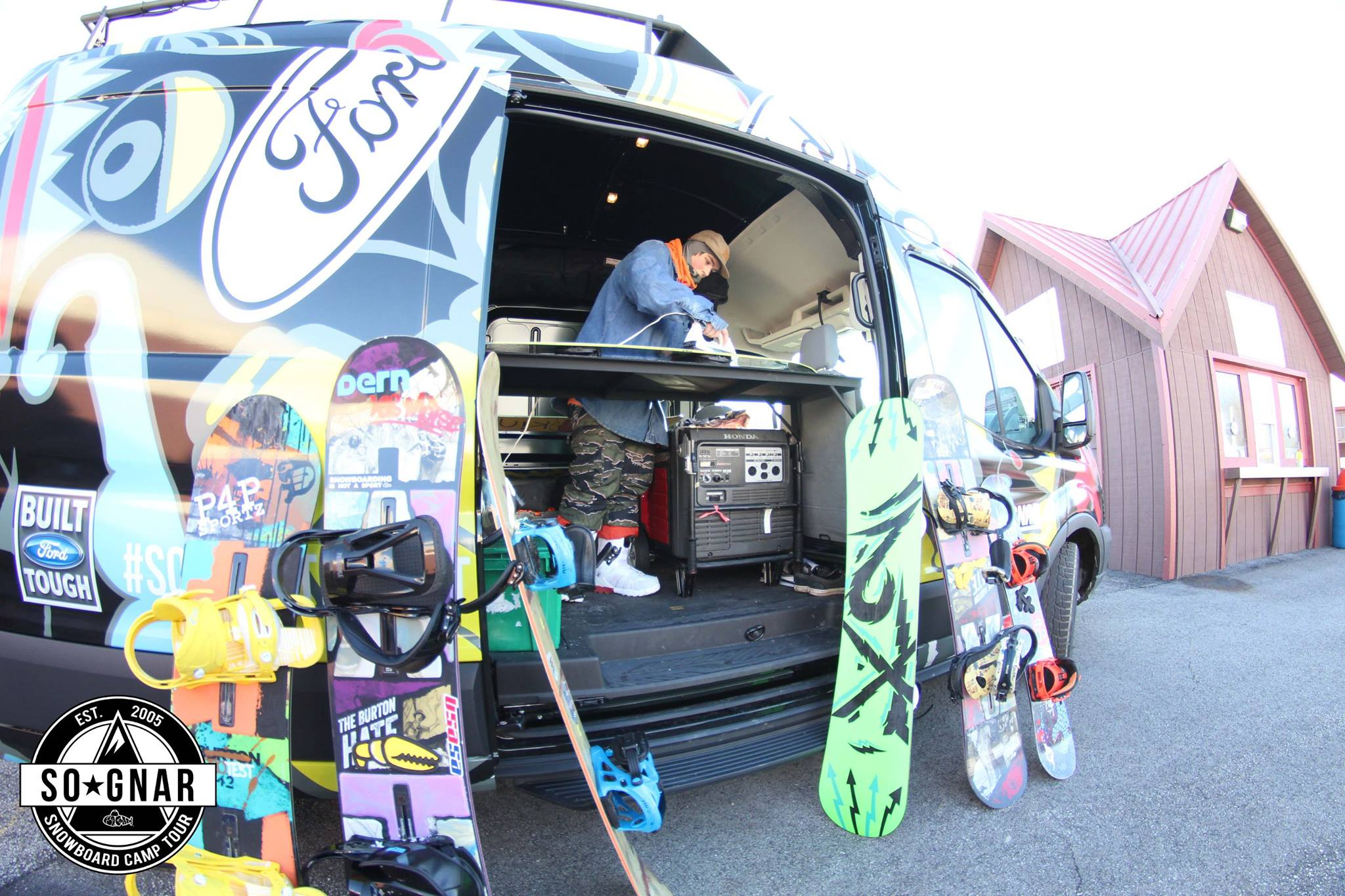People Do Crazy Things With Their Ford Transit Vans 11