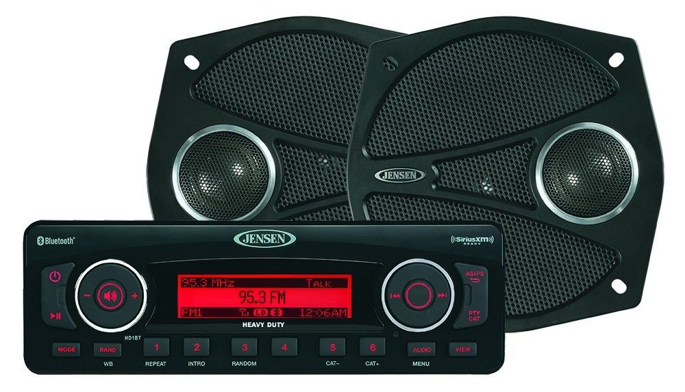 Cincinnati Auto Show >> People Say This Is The Best Aftermarket Radio For Your Touring Bike - autoevolution