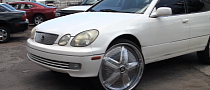 "People Who ""Gettin Money"" Make a Lexus GS Donk [Video]"