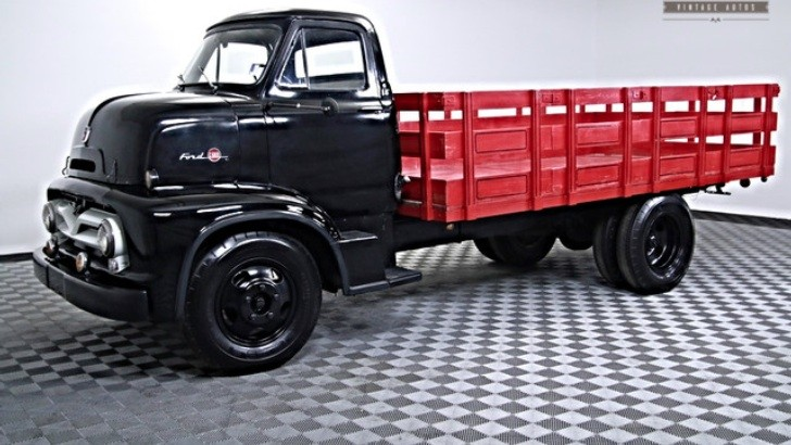 Perfectly Restored Ford F600 COE Awaits for an Owner ...