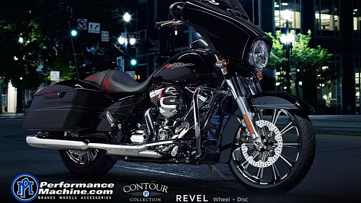 Performance Machine Has Custom Wheels for Any 2014 Harley-Davidson