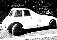 Persu streamliner on the streetes