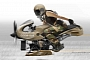 Petit's Flug, a BMW R1200GS Boxer-Powered Fighter Aircraft Concept