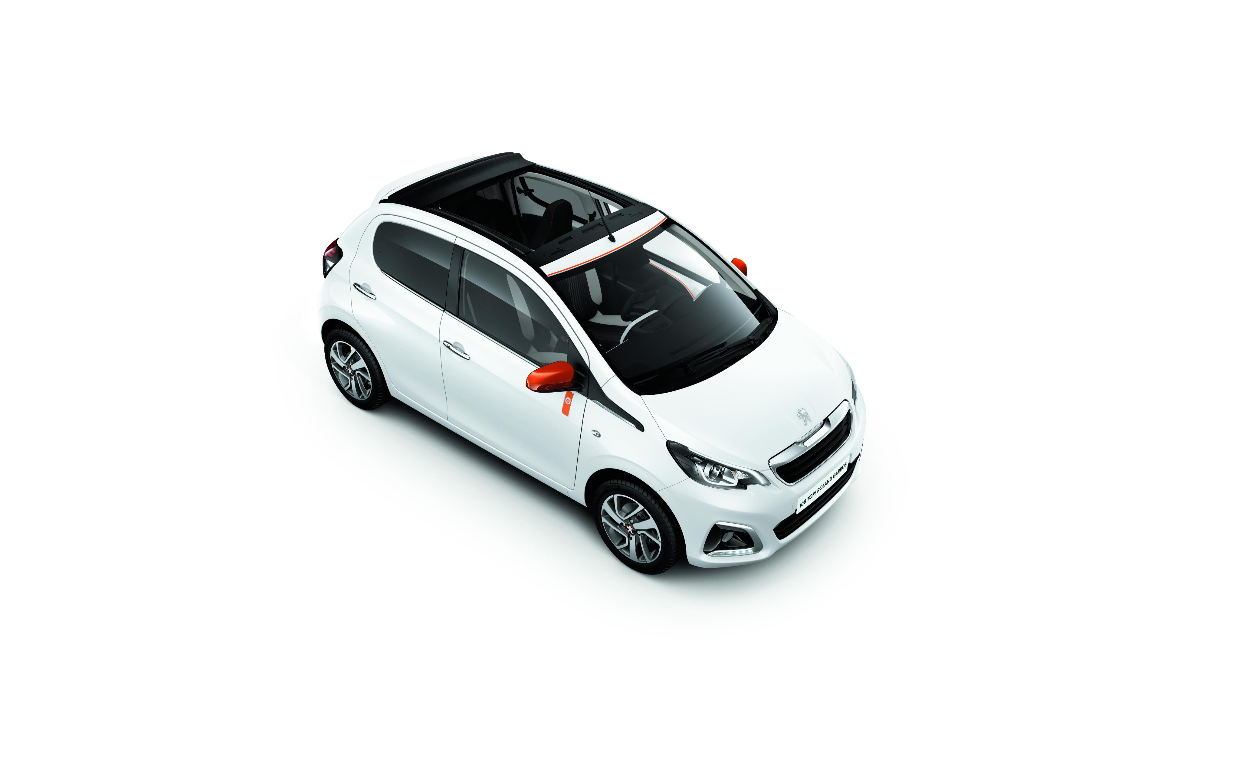 Groovy Peugeot 108 Roland Garros Special Edition is the Definition of FU36