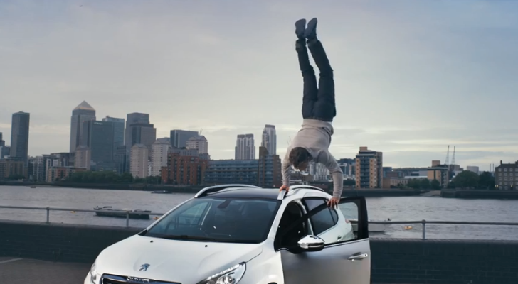 Peugeot 2008 Carkour Commercial Is Very Cool [Video]