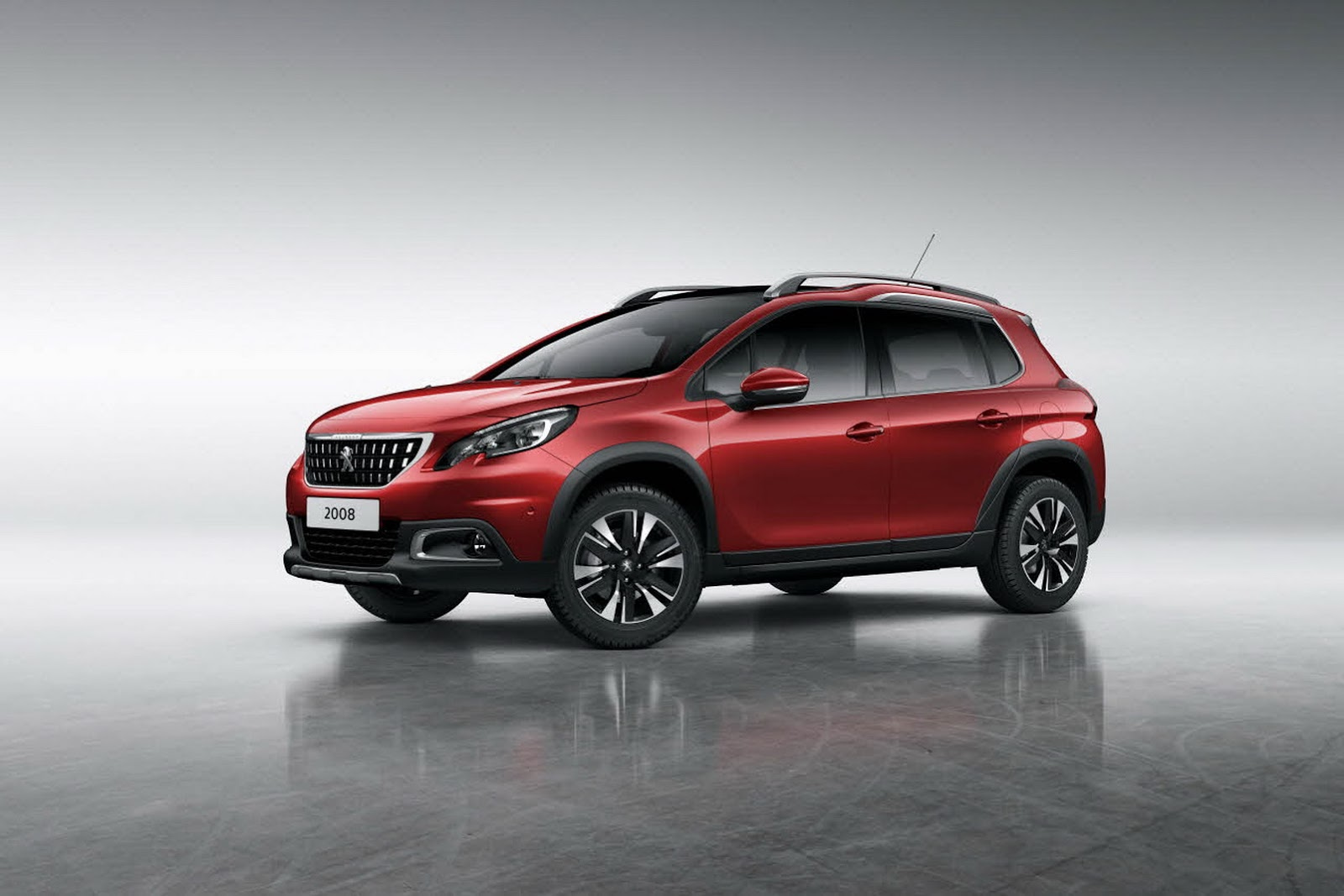 2016 peugeot 2008 facelift doesn t look half bad autoevolution. Black Bedroom Furniture Sets. Home Design Ideas