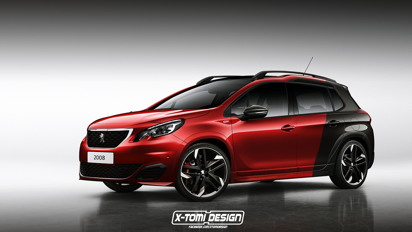 Peugeot 2008 Gti Will Happen Eventually But A Rendering
