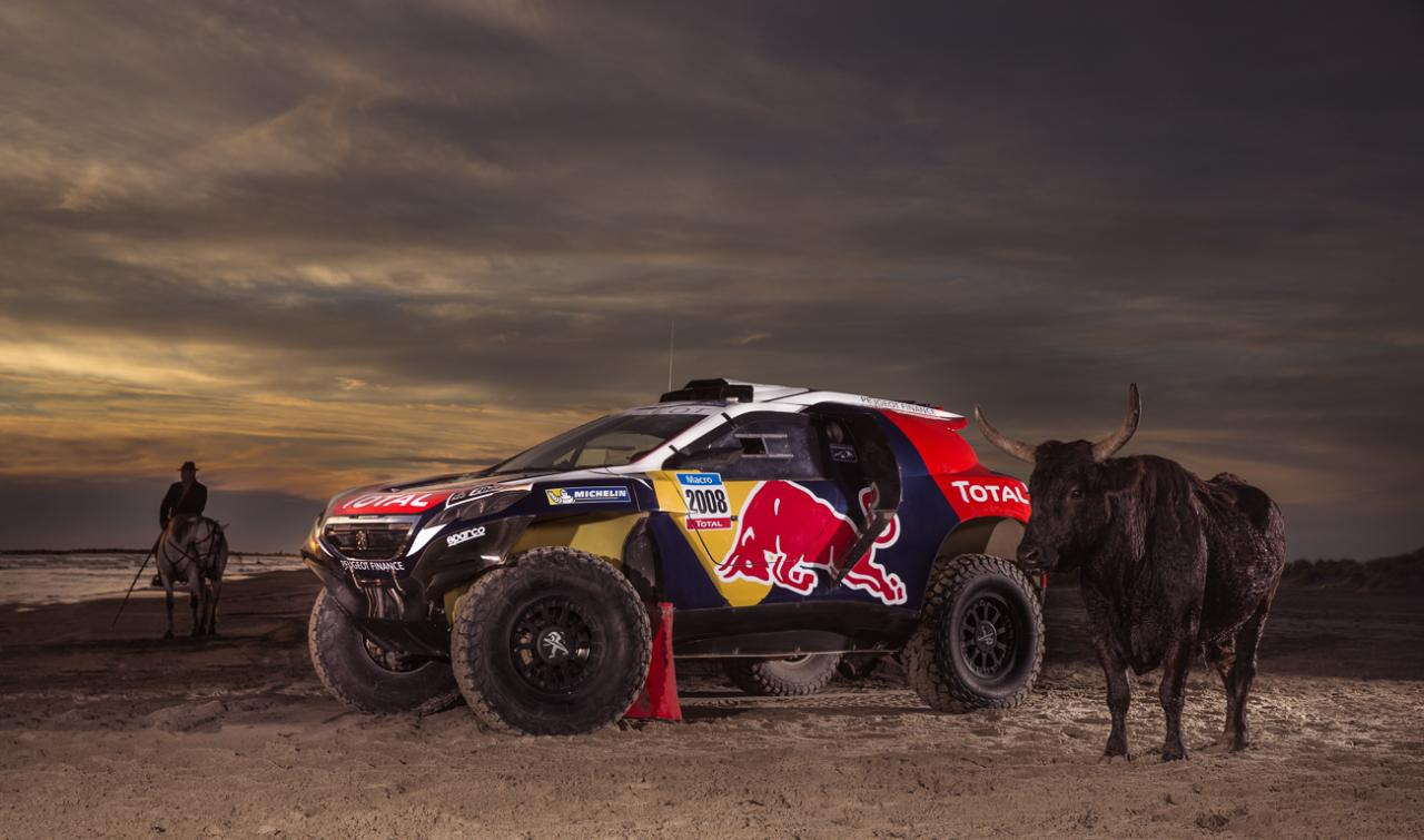 Peugeot 2008 Dkr Shows Red Bull Livery Ahead Of Dakar 2015
