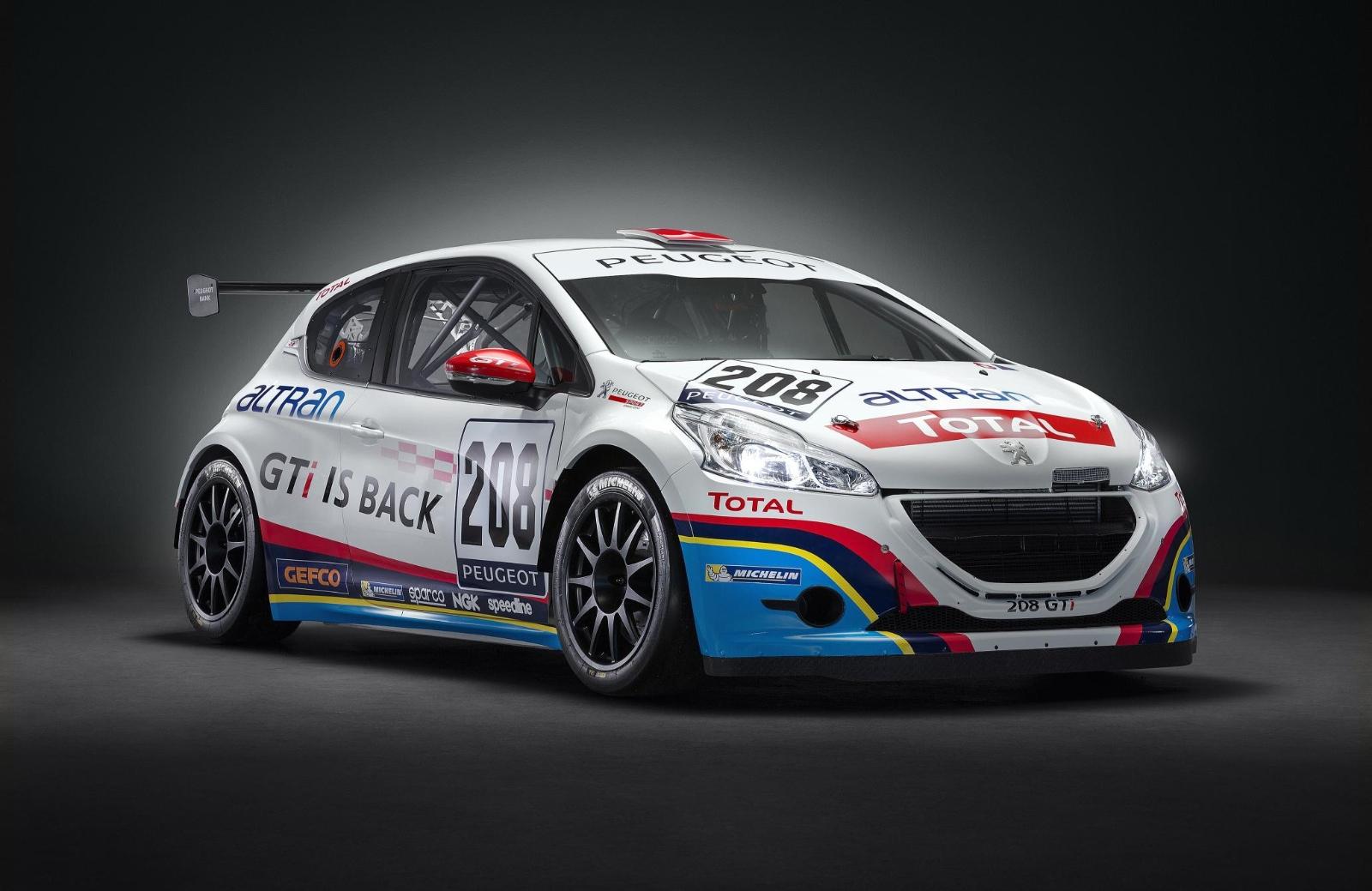 peugeot 208 gti to race at nurburgring autoevolution. Black Bedroom Furniture Sets. Home Design Ideas