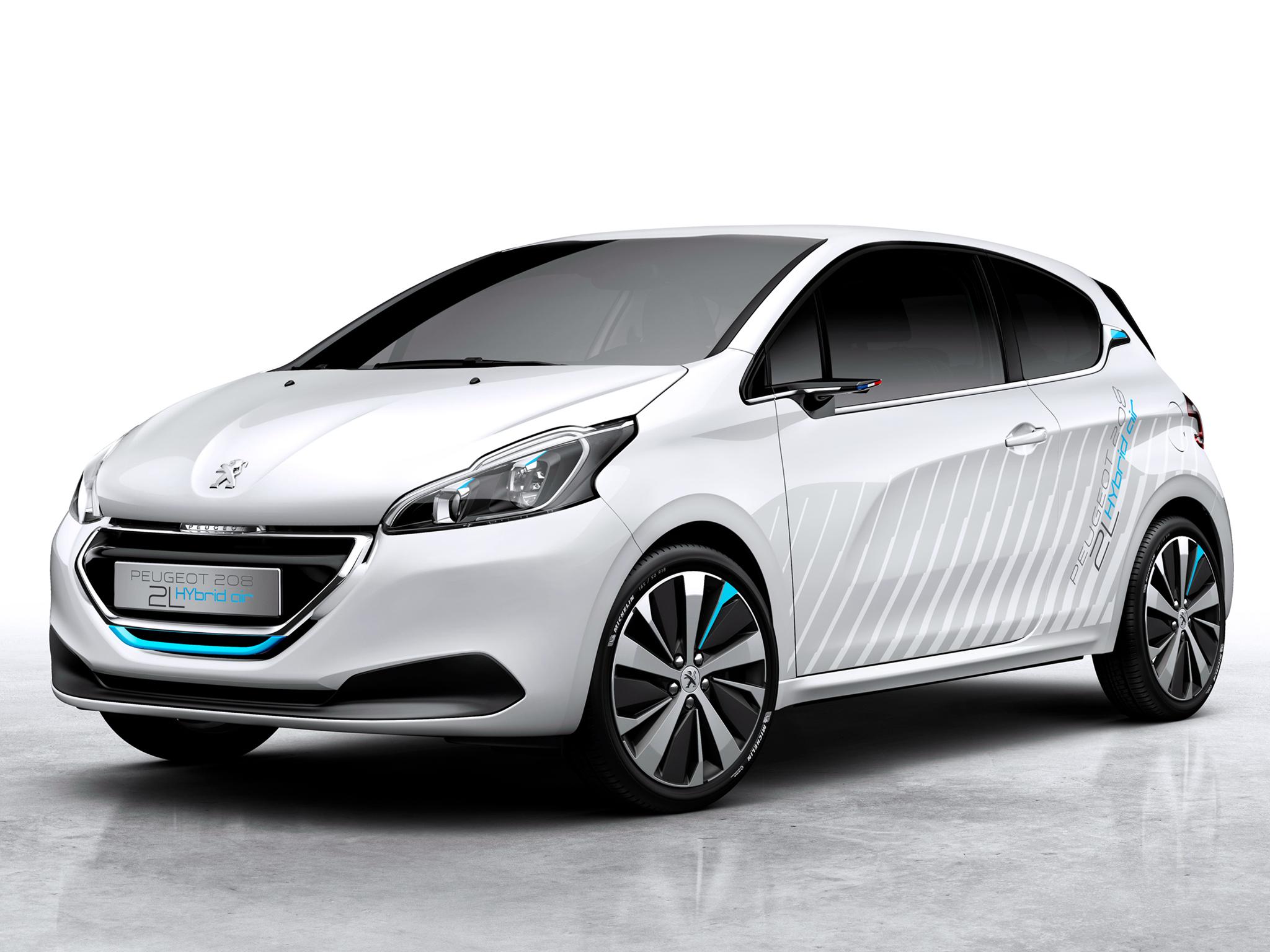 peugeot 208 hybrid air concept revealed ahead of paris debut autoevolution. Black Bedroom Furniture Sets. Home Design Ideas
