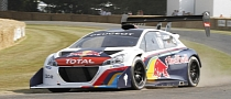 Peugeot 208 T16 Pikes Peak Claims Fastest Time at 2013 Goodwood