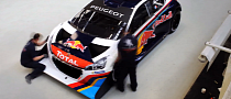 Peugeot 208 T16 Pikes Peak Time Lapse Assembly Is Awesome [Video]