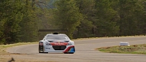 Peugeot 208 T16, Sebastien Loeb Make First Pikes Peak Contact [Video]