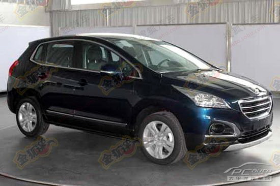 peugeot 3008 facelift spotted in china autoevolution. Black Bedroom Furniture Sets. Home Design Ideas