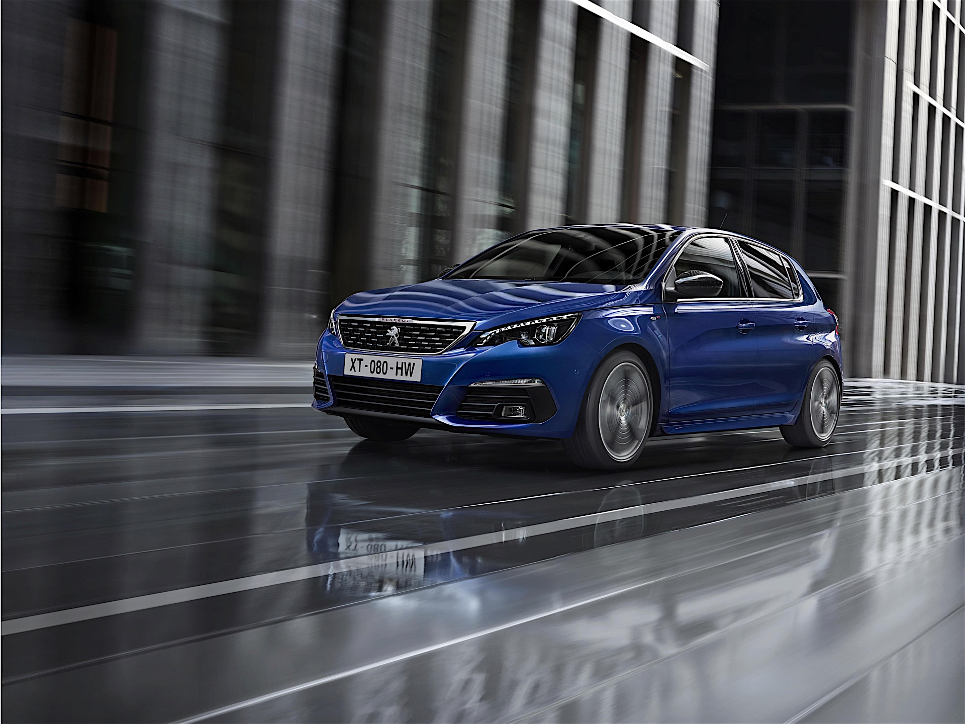 2018 peugeot 308 facelift officially unveiled new engines included autoevolution. Black Bedroom Furniture Sets. Home Design Ideas