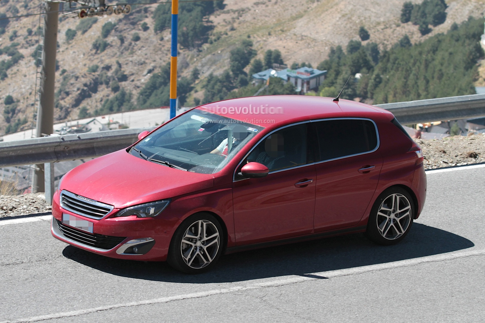 peugeot 308 gti spied testing ahead of debut autoevolution. Black Bedroom Furniture Sets. Home Design Ideas