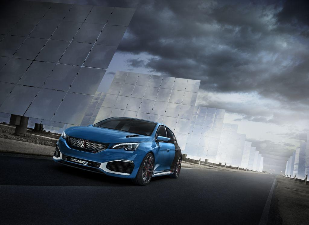 peugeot 308 r hybrid still has a shot at low volume production