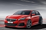 Peugeot 308 R Hot Hatch Concept Leaked
