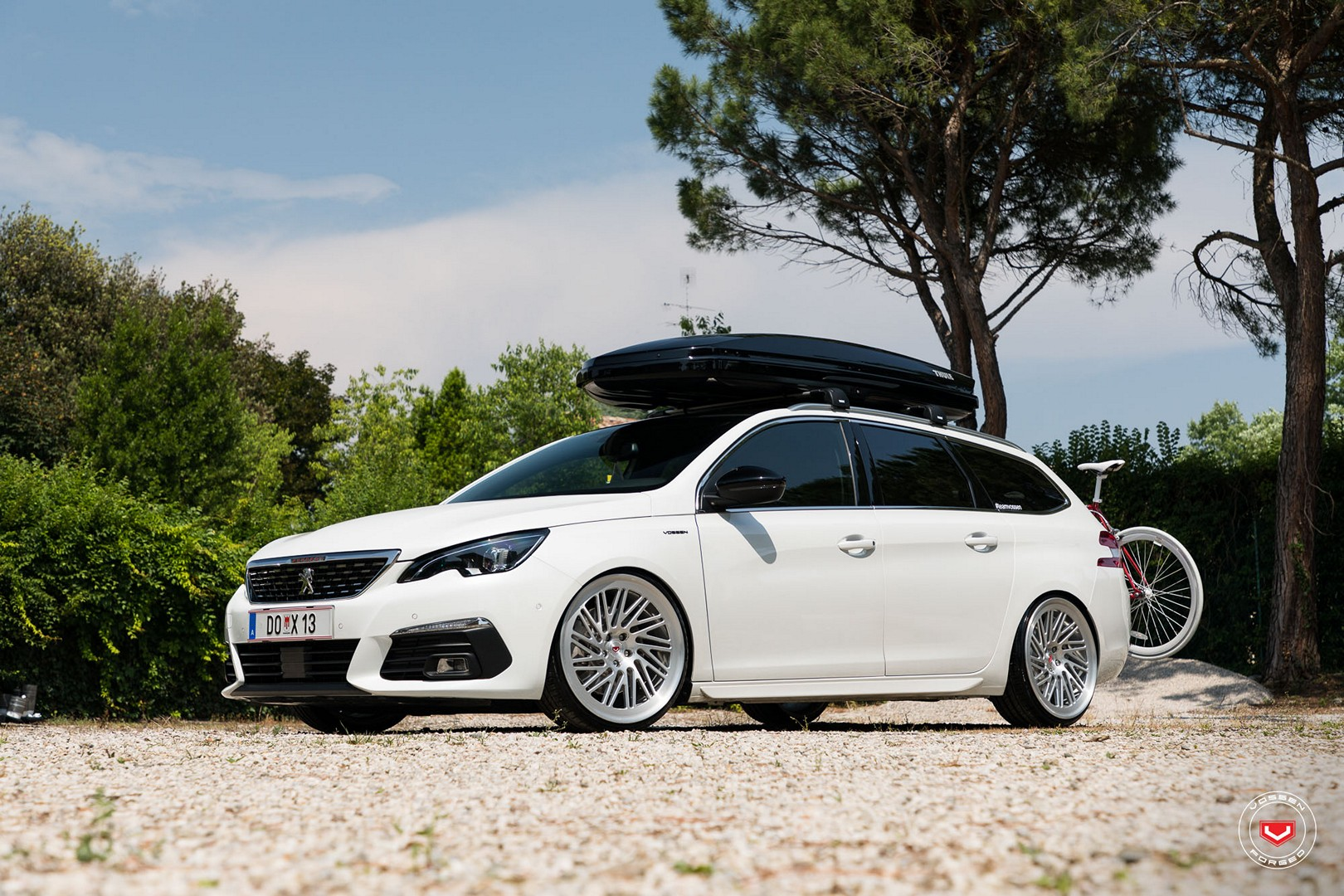 Peugeot 308 Sw Lowered On Vossen Wheels Autoevolution