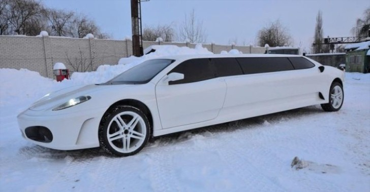 Peugeot 406 Coupe Transformed into Ferrari Limo [Photo Gallery]