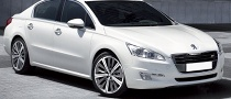 Peugeot 508 Photos Leaked