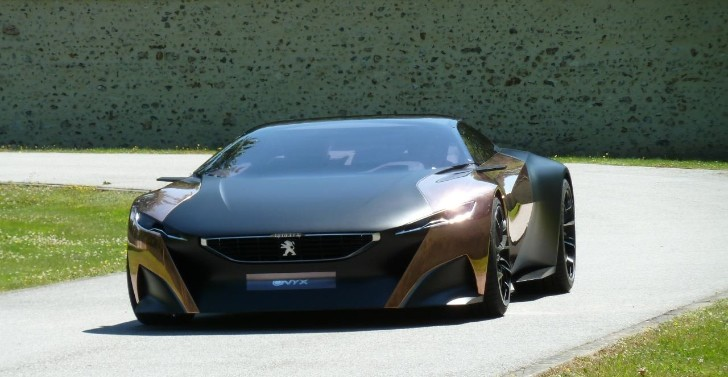 Peugeot at Goodwood Festival of Speed 2013