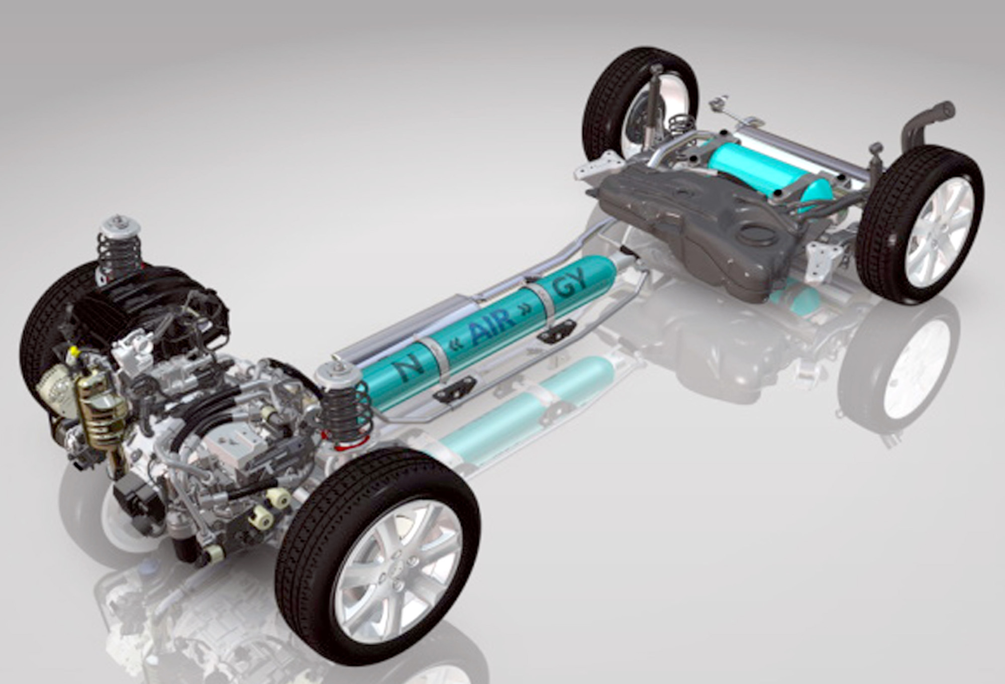 How PeugeotCitroens Hybrid Air System Works The Car That Runs