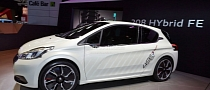 Peugeot Details Its Efficient Hybrid 208 Concept [Video] [Photo Gallery]