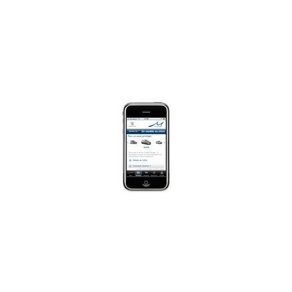 peugeot introduces mu mobility program iphone app autoevolution. Black Bedroom Furniture Sets. Home Design Ideas
