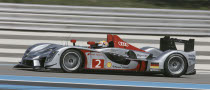 Peugeot Lodge Protest Against Audi R15 TDI Bodywork