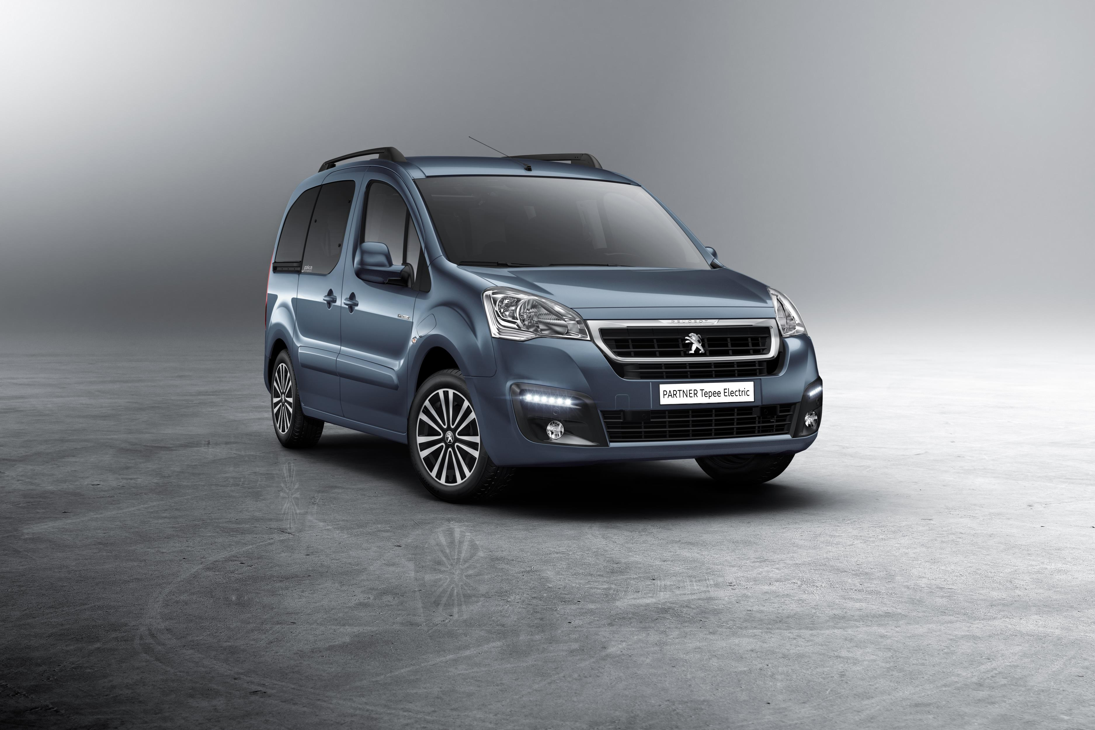 Electric Peugeot Partner Tepee to bring 100-plus mile range