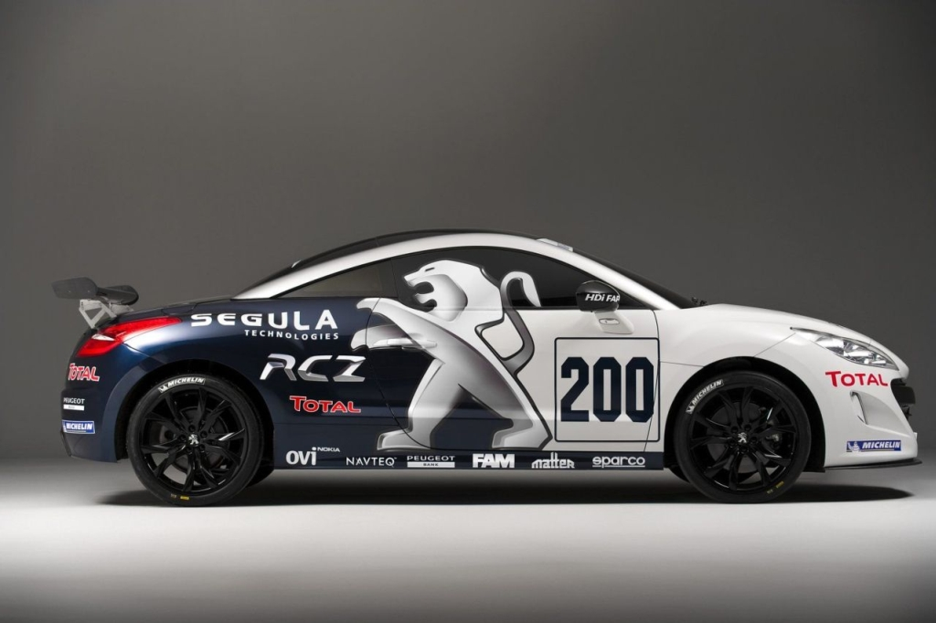 Peugeot RCZ Headed for Nurburgring 24 Hour Race - autoevolution