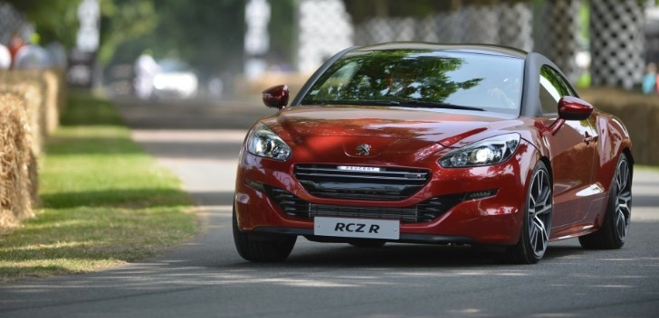 Peugeot RCZ R Takes on Goodwood Hill [Video]