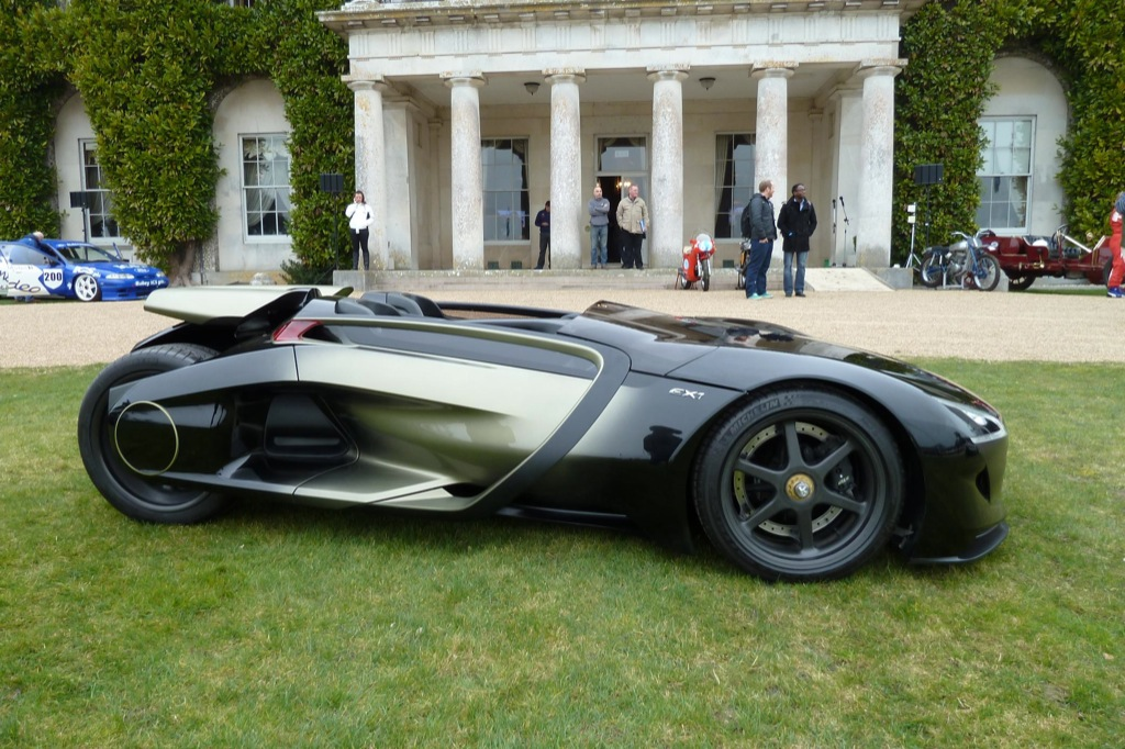 Attractive Peugeot EX1 Outside Goodwood House