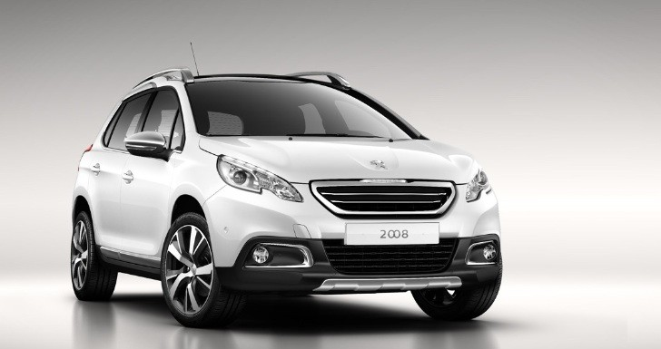 Peugeot Reveals 2008 Urban Crossover Ahead of Geneva [Photo Gallery]