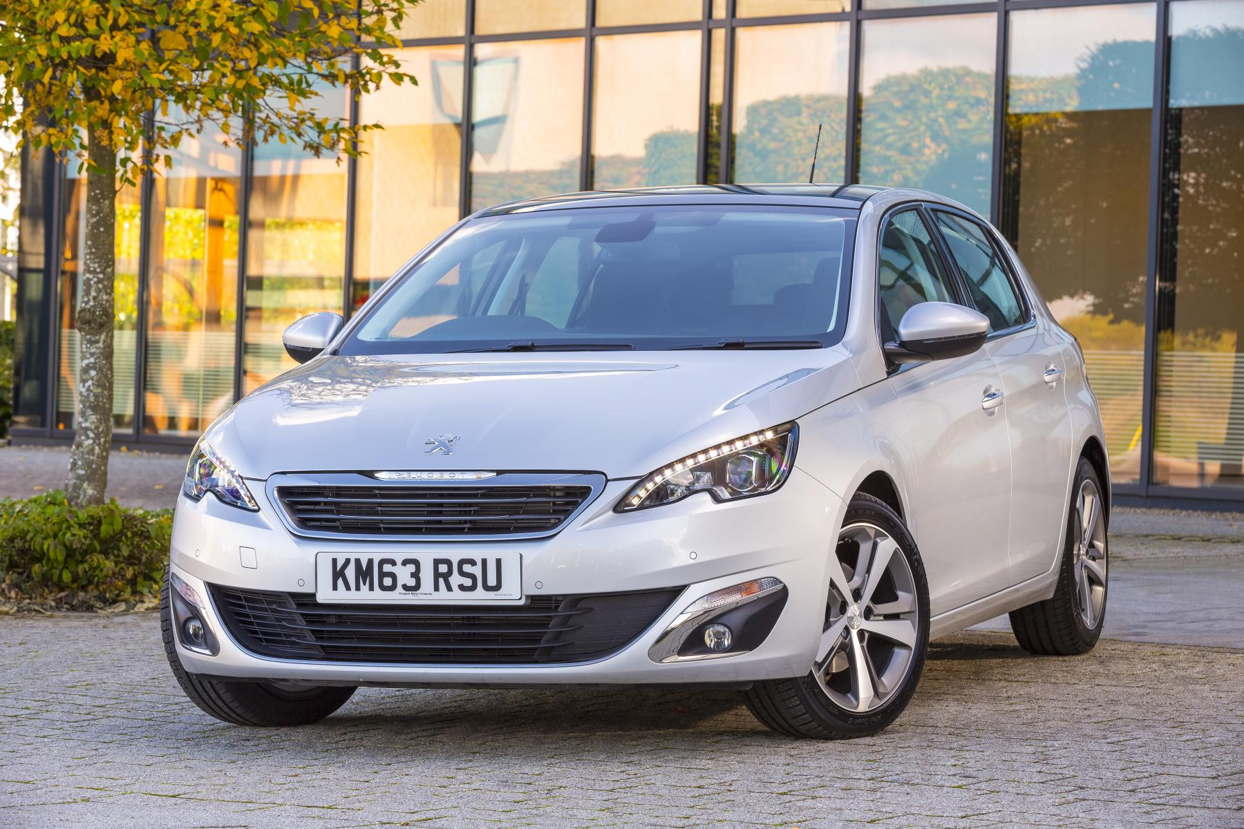 peugeot's new 308 compact hatchback goes on sale in britain