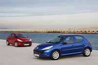 Iran produces the Peugeot 206