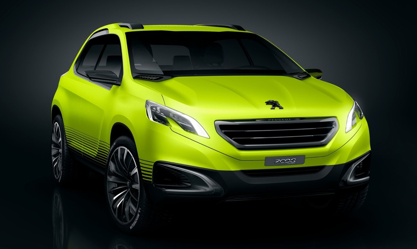 peugeot to launch 2008 rx 1008 3 door crossover coupe in 2016 autoevolution. Black Bedroom Furniture Sets. Home Design Ideas