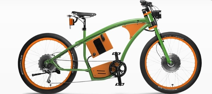 PG-Bikes BlackBlock2 - EV Bicycle With Two Motors