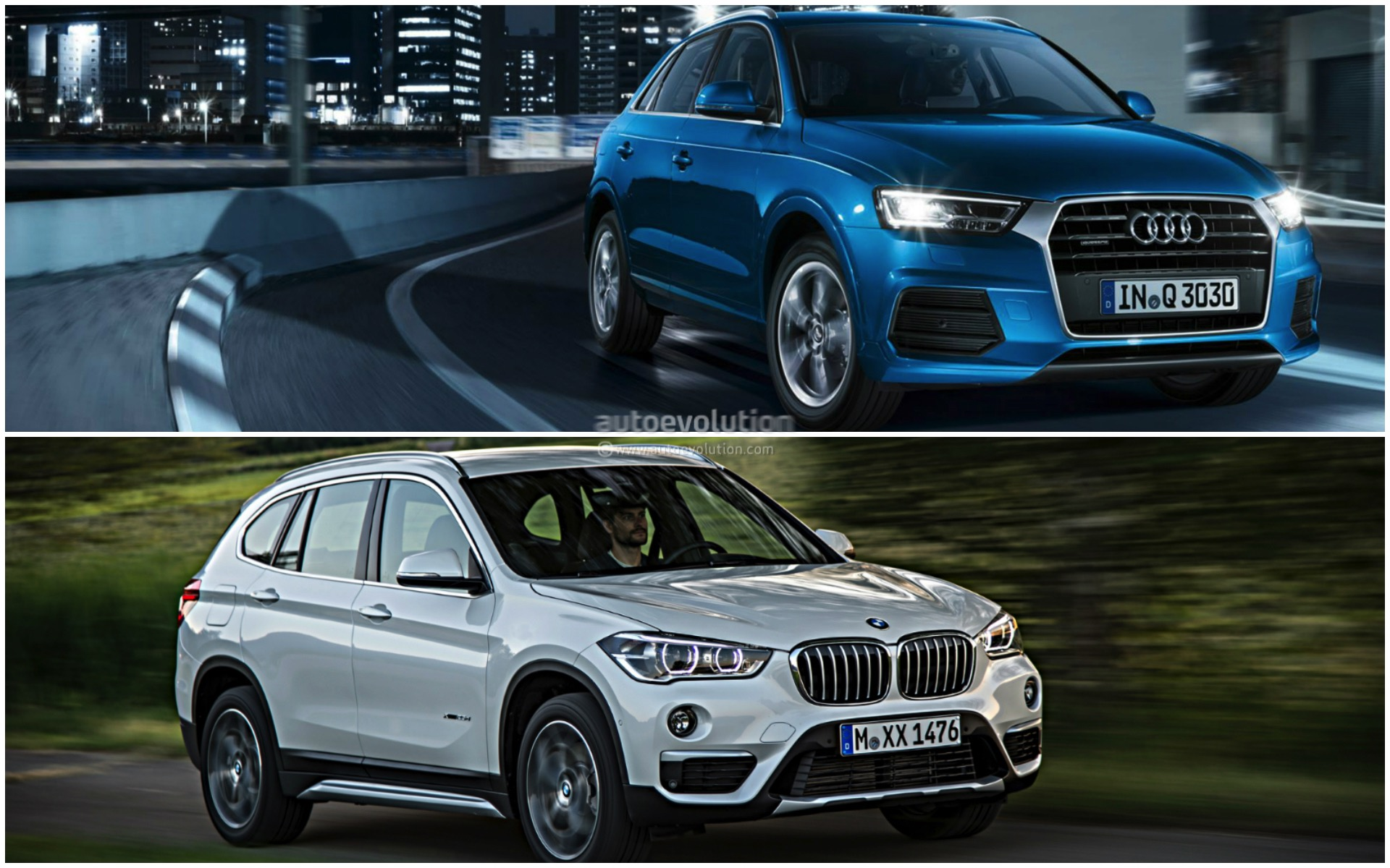 19 Photos Bmw F48 X1 Vs Audi Q3
