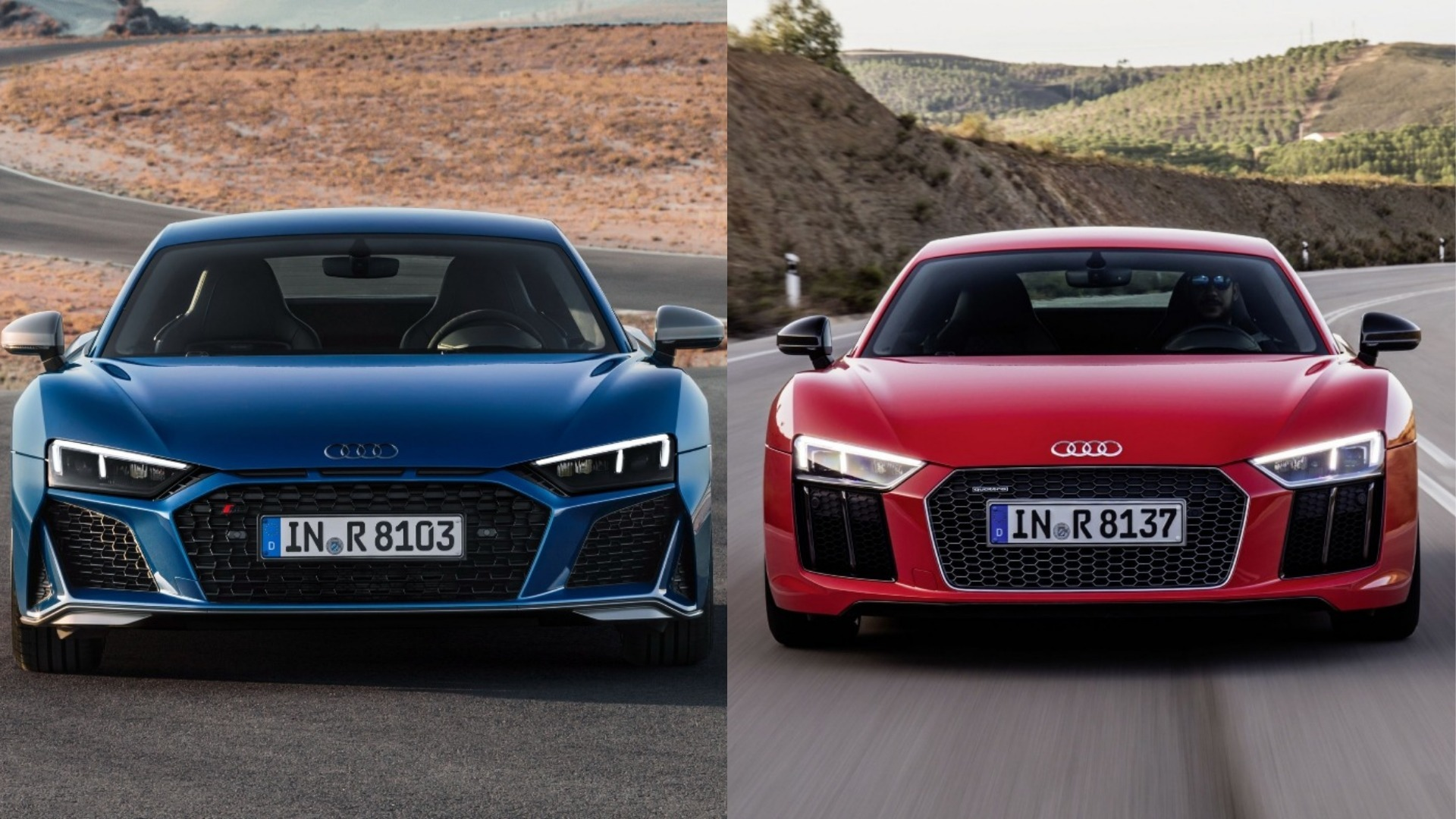 Photo Comparison 2020 Audi R8 Vs 2015 Audi R8 Autoevolution