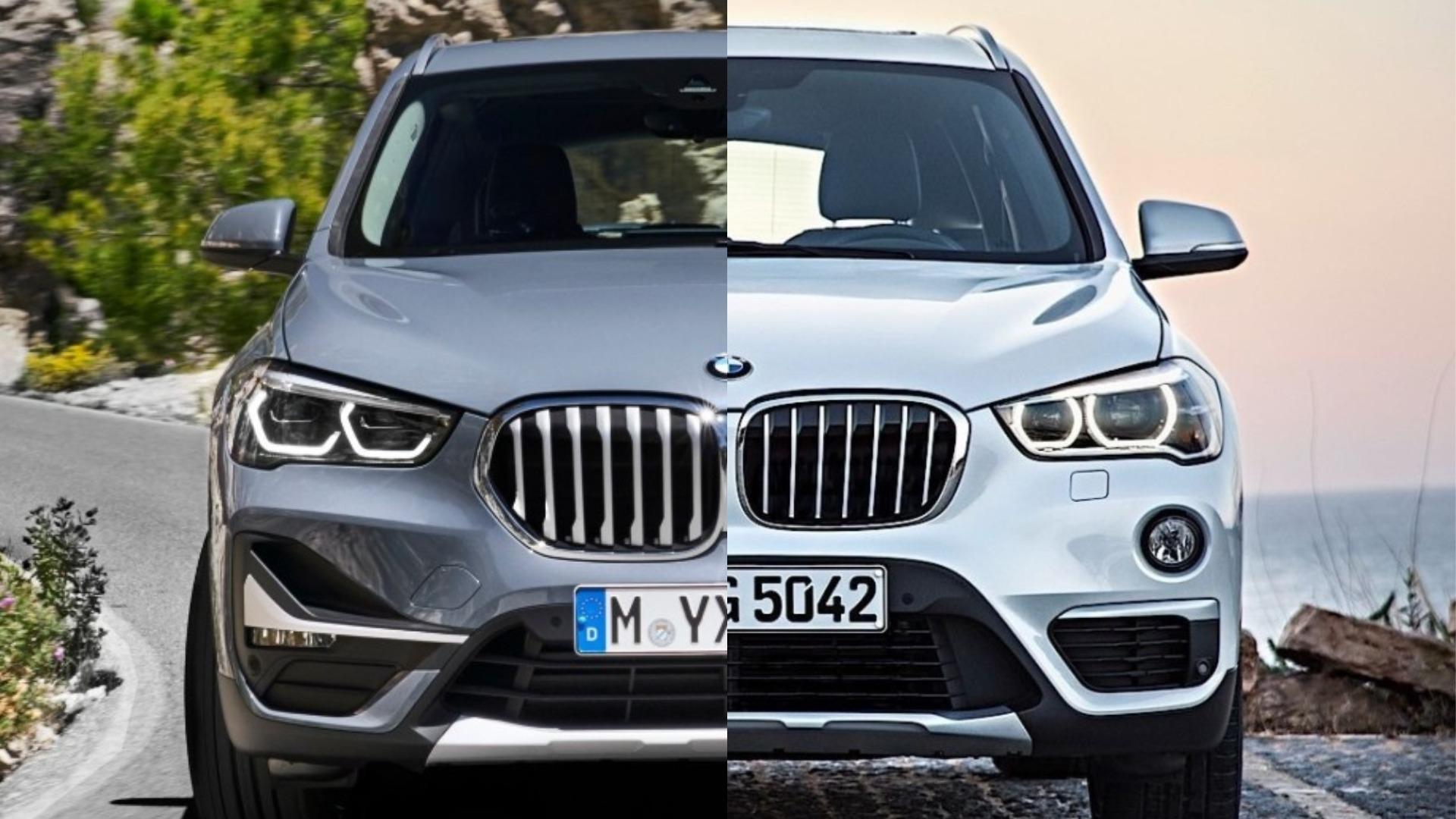 Photo Comparison 2020 Bmw X1 Vs 2016 Bmw X1 Autoevolution
