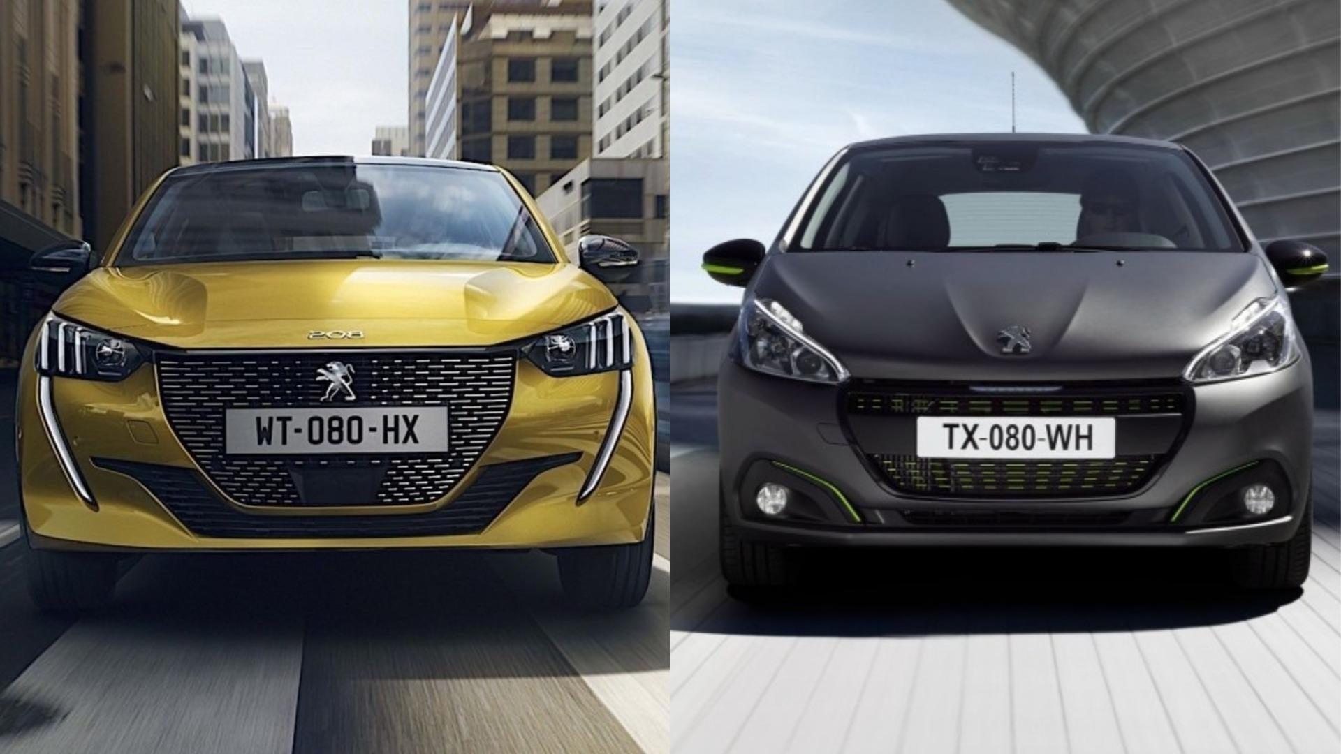 Photo Comparison 2020 Peugeot 208 Vs 2015 Peugeot 208 Autoevolution