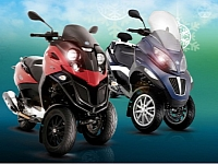 Piaggio MP3 holiday sales event
