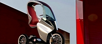 Piaggio PAM, Simone Mandella's Electric Concept [Photo G