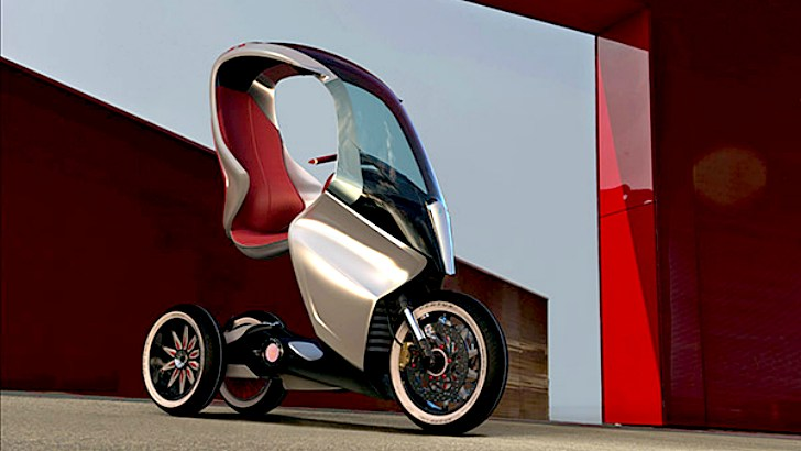 Piaggio PAM, Simone Mandella's Electric Concept [Photo Gallery]
