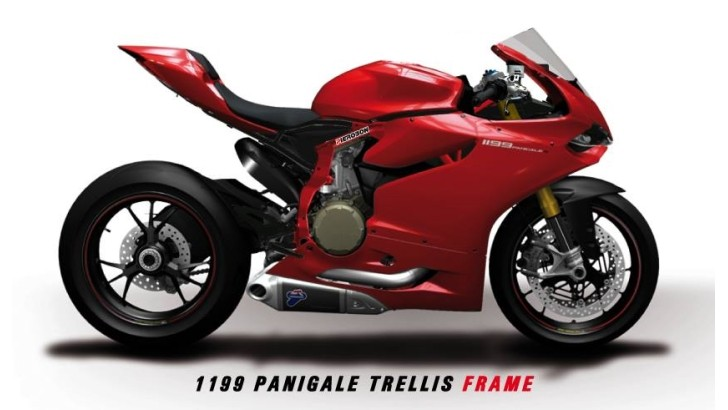 Pierobon Announces Trellis Frame for Ducati 1199 Panigale